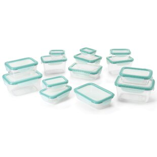 Good Grips Snap Plastic Food Storage Container (Set of 28)