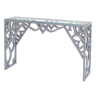 Sallie Console Table by Bungalow Rose Great price