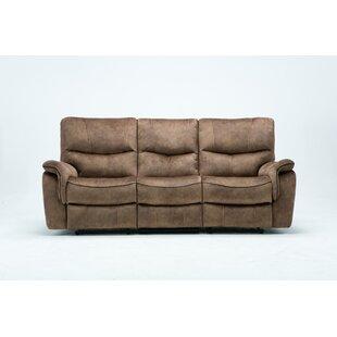 Palu Fabric Upholstered Living Room Recliner Reclining Sofa