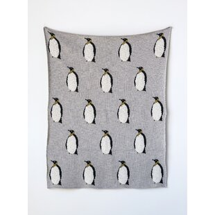 Petrone Knit Penguin Cotton Blanket aaf562cf3