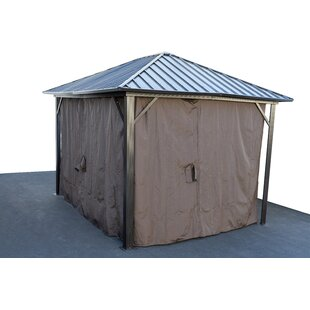 Gazebo Privacy Curtain Side Wall by SunnyCrest