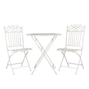 Miracle Folding Dining Set With 2 Chairs By Lily Manor