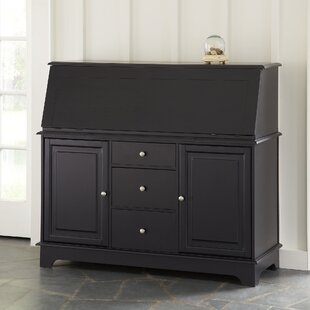 Reddick Secretary Desk with Hutch by Darby Home Co