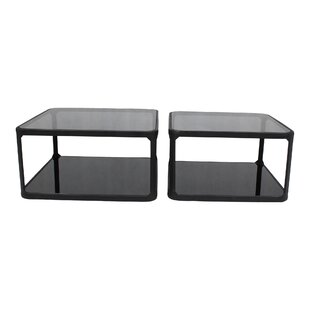 Cutter Coffee Table Set (Set of 2)