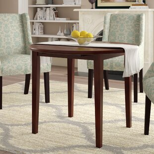 Kendall Drop Leaf Solid Wood Dining Table Alcott Hill