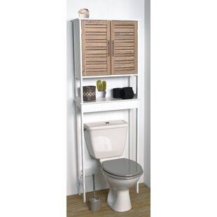 Searching for Stockholm 24.8 W x 70.5 H Over the Toilet Storage By Evideco