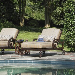 Sands Chaise Lounge with Cushion by Tommy Bahama Outdoor