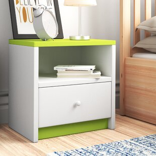 Caswell Bedside Table With Drawer By Zipcode Design