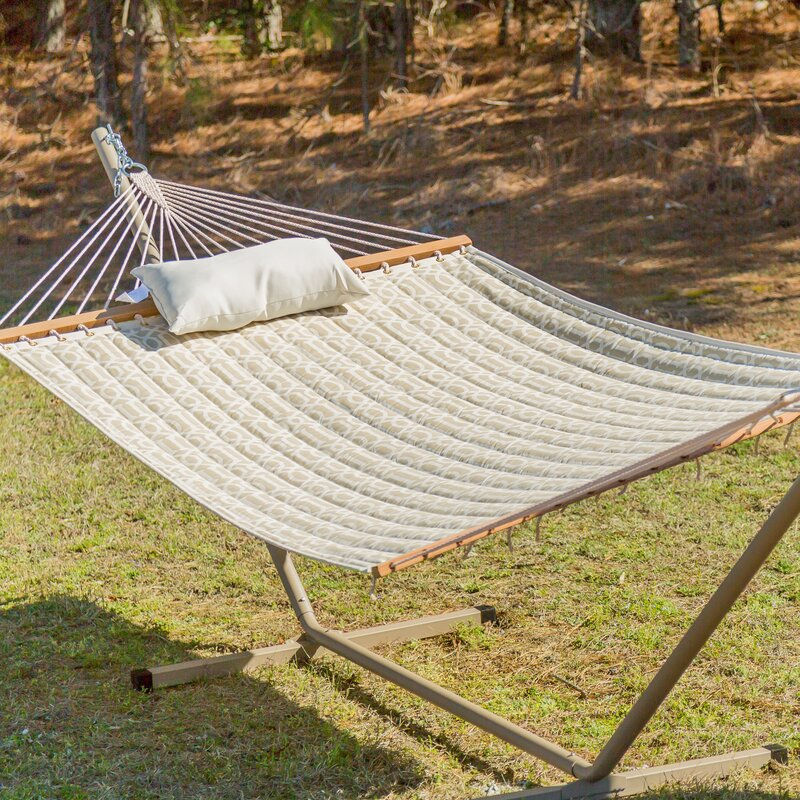 default_name - Castaway Hammocks Quilted Hammock With Stand & Reviews Wayfair