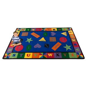 Colorful Shapes Area Rug
