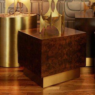 M3LD Milton Burl Cube End Table