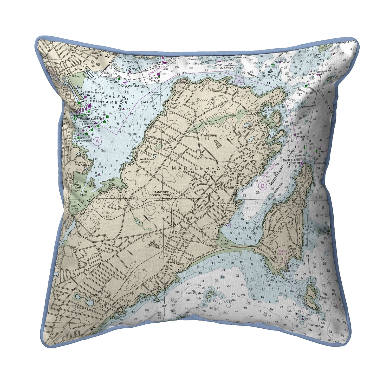 East Urban Home Marblehead Ma Corded Indoor Outdoor Throw Pillow Wayfair