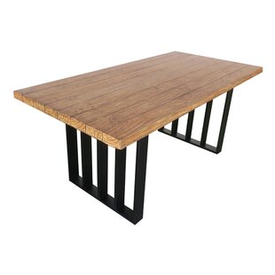 Union Rustic Onion Creek Outdoor Dining Table