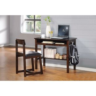 Ambrose Writing Desk And Chair Set by Trule Teen Great price