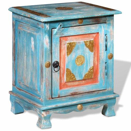 Nachttisch Paddington   Schlafzimmer > Nachttische   Blau   Mangoholz   BohoLiving