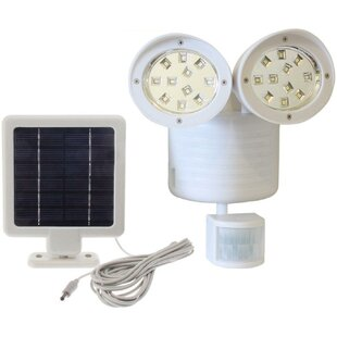 Myfuncorp Solar Power Outdoor Security Flood Light with Motion Sensor