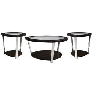 Merkle 3 Piece Coffee Table Set By Orren Ellis
