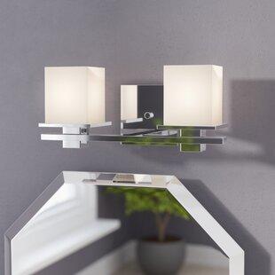 Brayden Studio Macri 2-Light Vanity Light