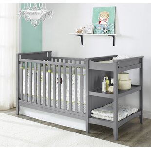 Emma 2 In 1 Convertible Crib With Changing Table By Baby Relax