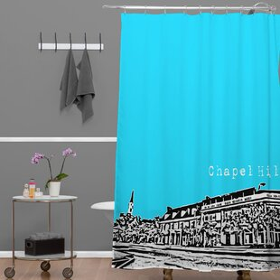 Bird Ave Chapel Hill Single Shower Curtain