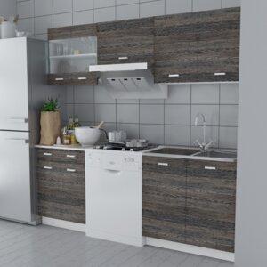 5-tlg. Küchenschränke-Set von Home Etc