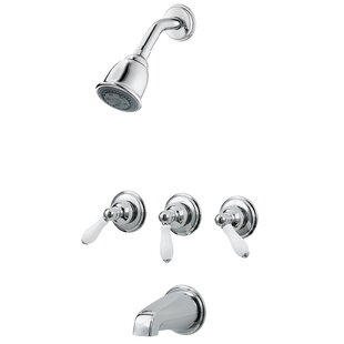 3-Handle Thermostatic Tub and Shower Faucet with Trim ByPfister
