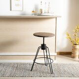 Galaxy Adjustable Height Bar Stool by Williston Forge