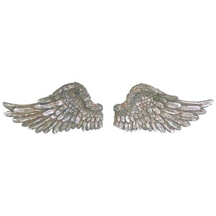 Wooden Angel Wings Wall Decor | Wayfair.co.uk