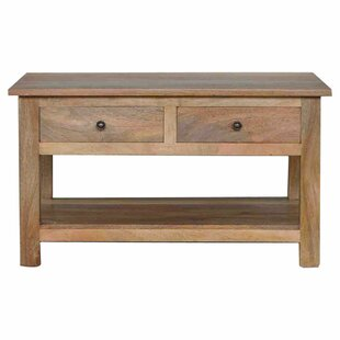 Solid Wood Coffee Table By Union Rustic
