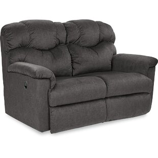 Lancer Leather Reclining Loveseat