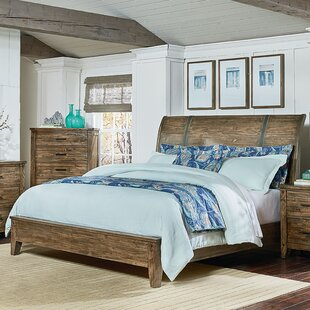 Burleigh Sleigh Bed by Loon Peak