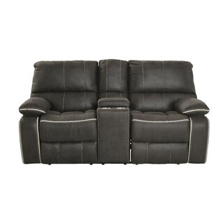 Flynt Reclining Loveseat Ebern Designs