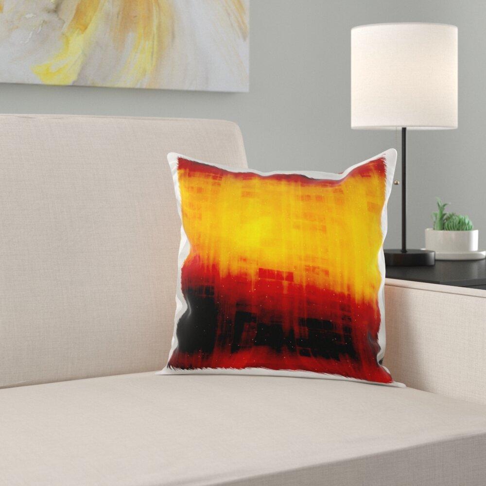 East Urban Home Deep Starry Night Look Pillow Cover Wayfair