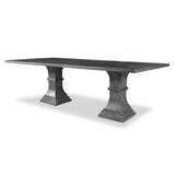 Pascarella Poplar Solid Wood Dining Table by Gracie Oaks