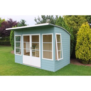 Fontaine 10 X 6 Ft. Shiplap Summer House By Sol 72 Outdoor