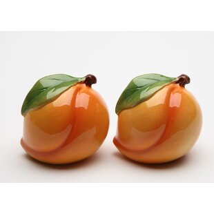 Peach Salt and Pepper Set ByCosmos Gifts