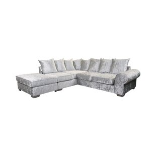 Reversible Chaise Corner Sofa By Canora Grey