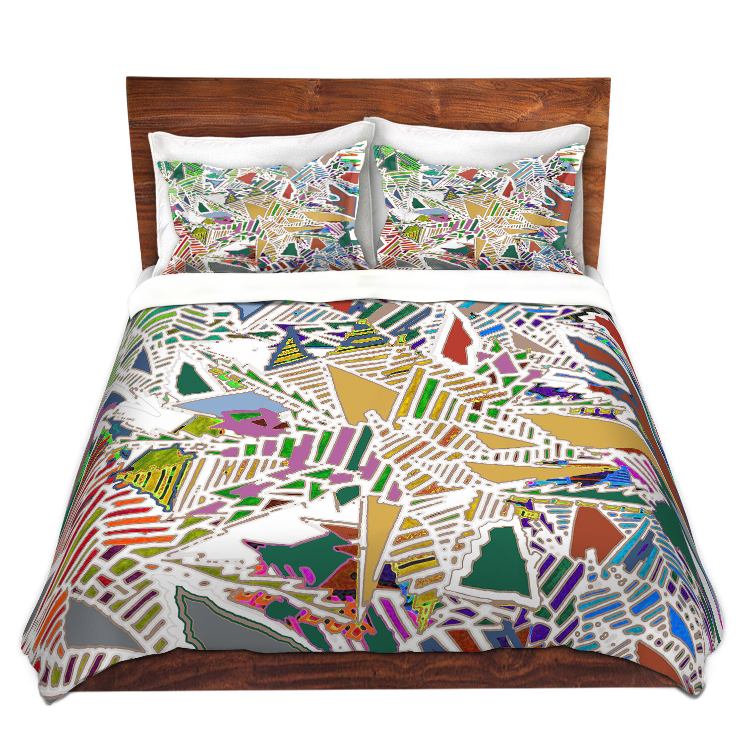 East Urban Home Stained Duvet Cover Set Wayfair