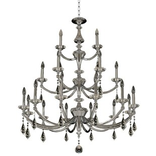 Allegri by Kalco Lighting Floridia 3 Tier 21-Light Chandelier