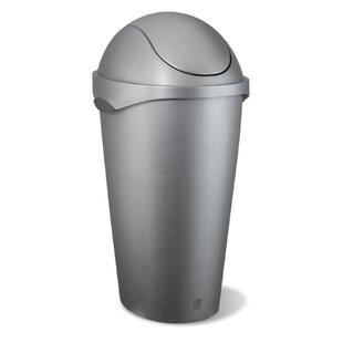 Umbra Swinger 12 Gallon Swing Top Trash Can