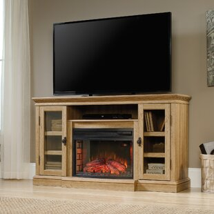 Brie TV Stand for TVs up to 60 with Electric Fireplace
