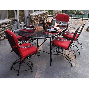 Meadowcraft Dogwood 7 Piece Dining Set