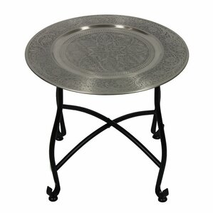 Jorman Moroccan Round End Table by Bloomsbur..