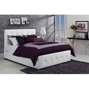 Reviews Florence Upholstered Platform Bed By DHP