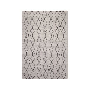 Reviews Adamsburg Ivory/Charcoal Area Rug ByFoundry Select