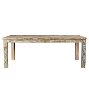 Desirae Solid Wood Dining Table Bloomsbury Market
