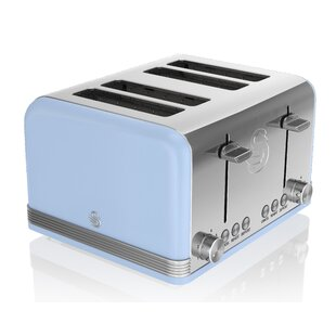 4 Slice Swan Retro Toaster