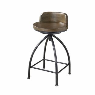 Paylor 24.5 Swivel Bar Stool by Union Rustic
