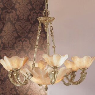 Classic Lighting Atlantis 9-Light Shaded Chandelier