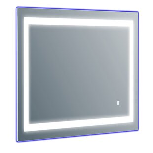Orren Ellis Led Lighted Wall Mirror